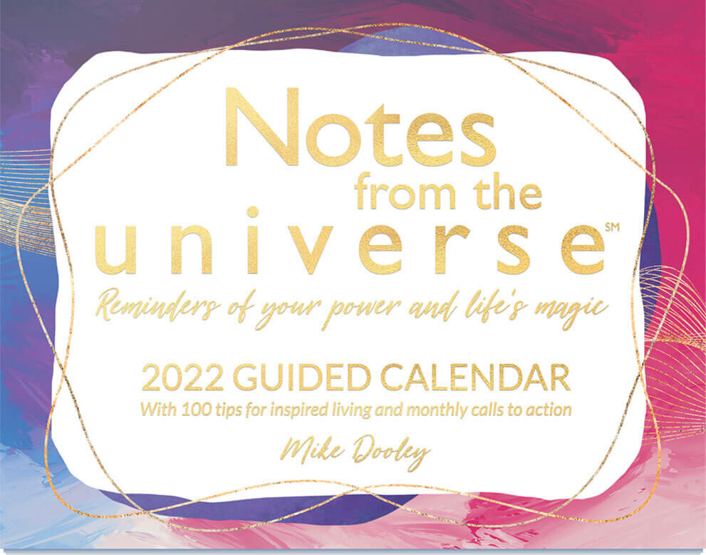 Notes from the Universe 2022 Guided Calendar
